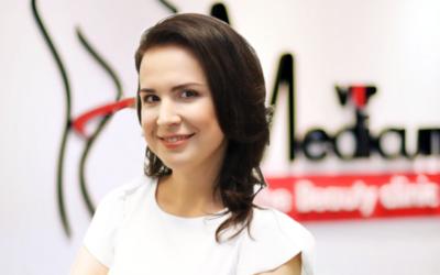 Estonian Vein Clinicu juhataja Olga Proskurnina käis vipMedicumi kliinikus enne tähtsat üritus oma näonahka turgutamas.